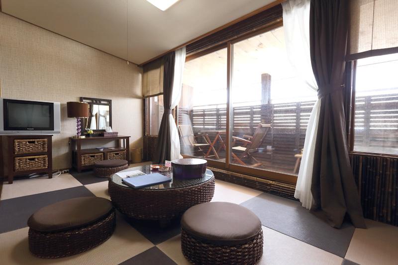 露天風呂付き客室 和洋室4