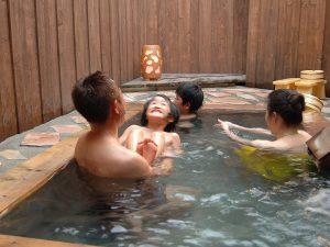 貸切露天風呂「赤田の湯」